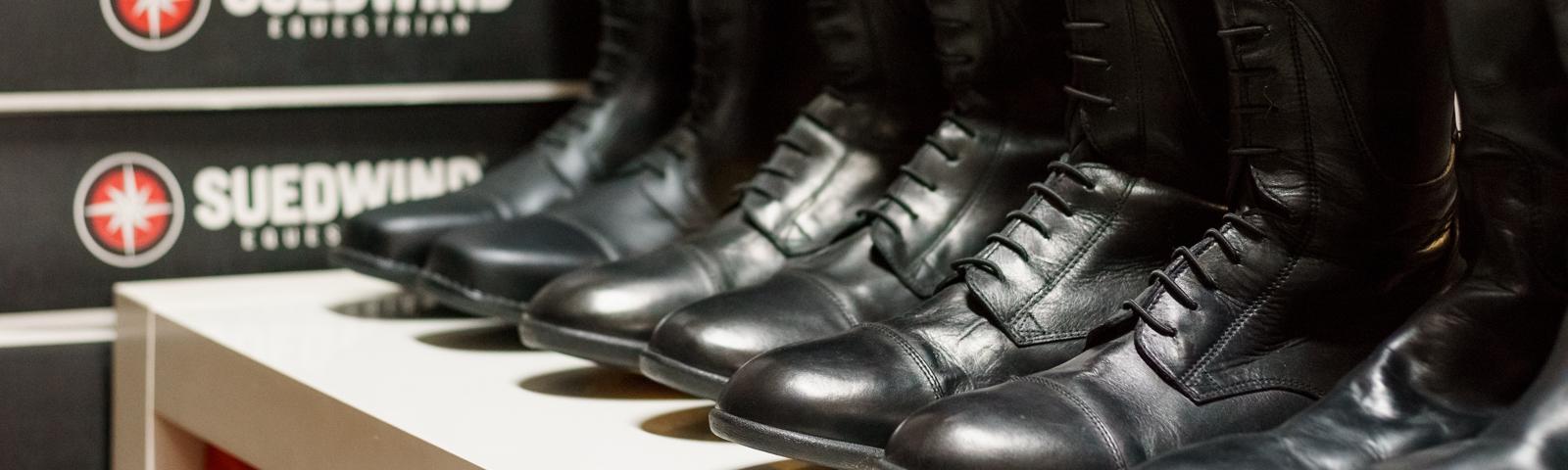 Reitschuhe Schuhpflege